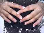 comblage gel uv crystal nails